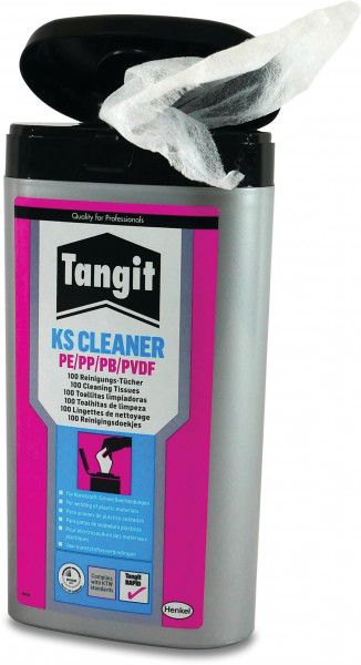 Tangit Cleaning wipes for PE/PP/PVDF