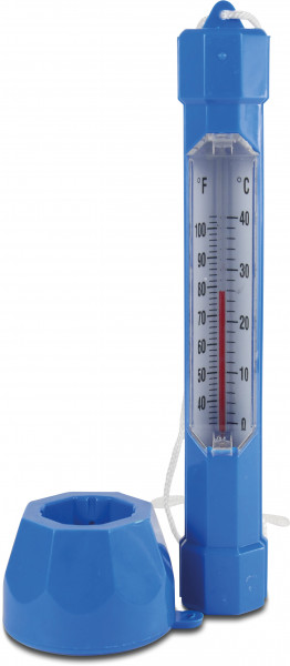 Flotide floating thermometer
