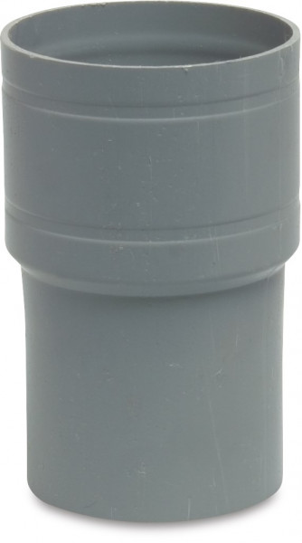 Rain water collection, Reducer socket, in pipe
