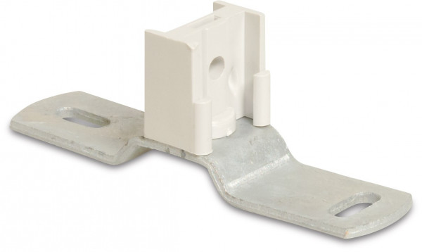 Bracket wall plate with clamp