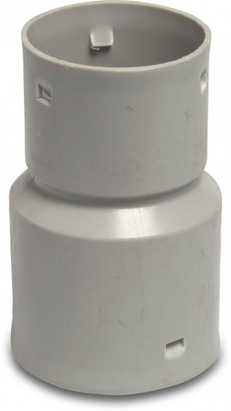 Reducer socket, for soil drainage pipe