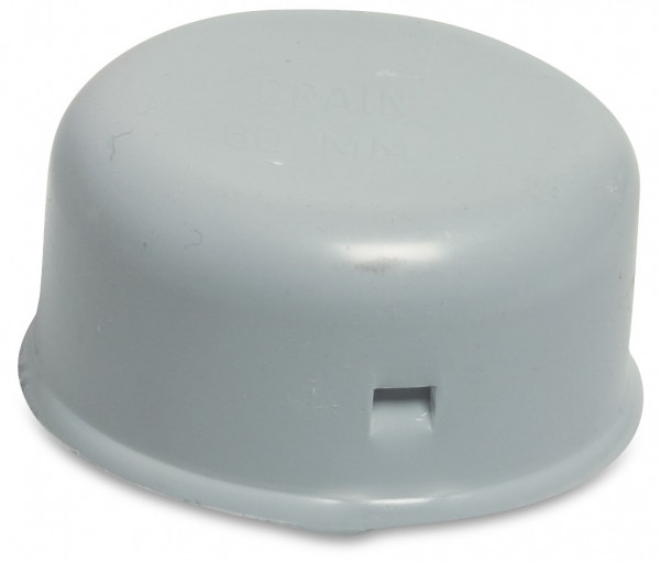 Click sleeve Cap, for soil drainage pipe