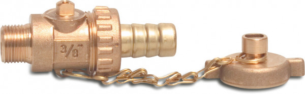 Fill and drain valve