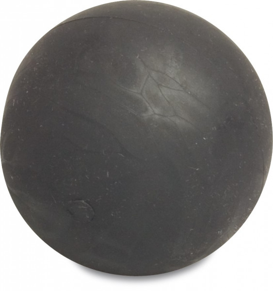 Rubber floating ball, solid