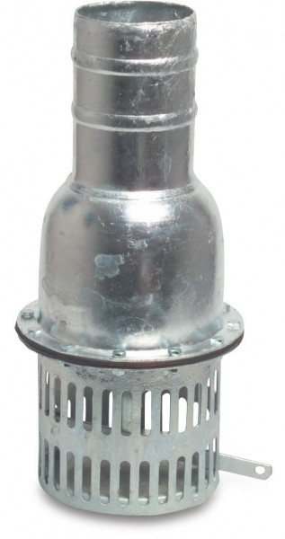Foot valve with hose tail