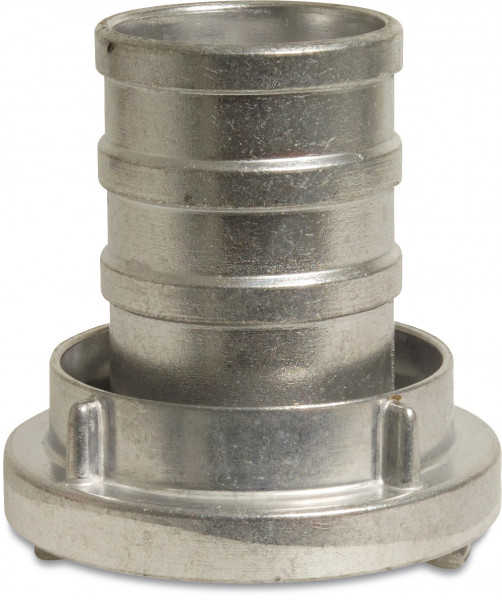 Quick coupler, with long hose tail, Storz
