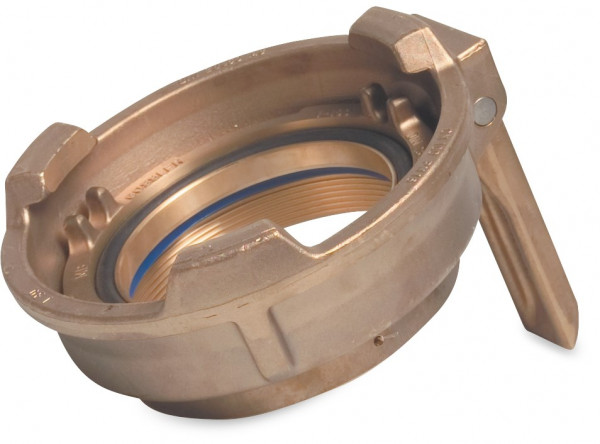 Tanker coupler, F-part, with handle