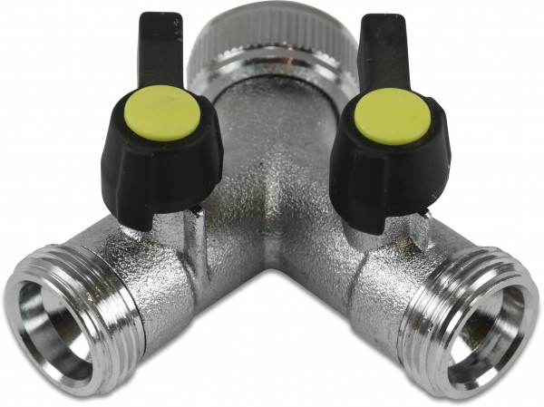 Hydro-S Click connector Y-piece, with 2 closing levers