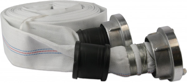 Profec Flat hose with couplers, construction and industrial Storz