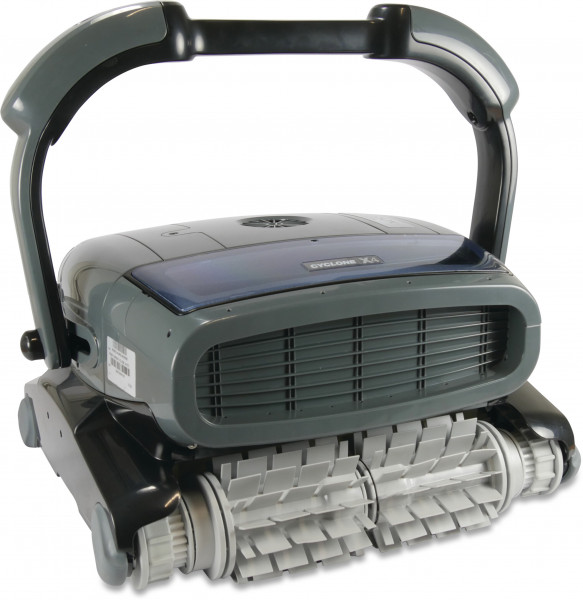 Norsup Robot pool cleaner, type Cyclone X4 with PVC brush roller